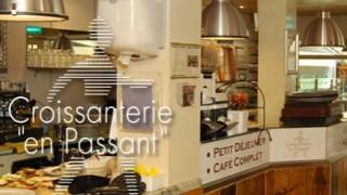 Impression Croissanterie en Passant